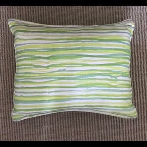 Hable construction custom linen pillow 14x17.